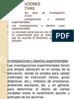 Tipos de Investigaciones Cuanttativas