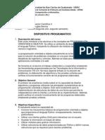 Program a Cientific Aii 2012