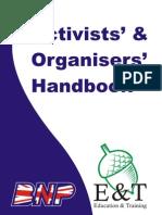 British National Party Activist Handbook