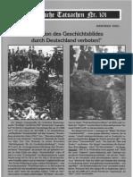 Historische Tatsachen - Nr. 101 - Siegfried Egel - 'Revision Des Geschichtsbildes Durch Deutschland Verboten!' (2008, 40 S.)