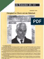 Historische Tatsachen - Nr. 102 - Siegfried Egel - Obrigkeit Im Clinch Mit Der Wahrheit (2008, 40 S., Bild)(1)