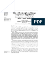 Self-concept and Image Congruence
