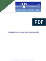 Ley de Patrimonio Histórico de Andalucía