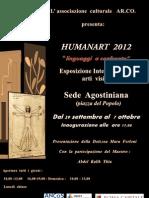 "Humanart 2012 ""Linguaggi a Confronto"""