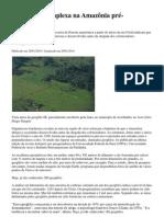 Reportagem-Civilização complexa na Amazônia