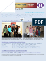 E-Newsletter Area H4 9-2012
