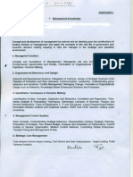 Syllabus -Domain Area of Written Examination for Direct Rectt -DM(Mktg)