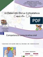 Competencias Comunicativa Oral