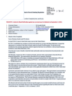12-08-25 Dr Zernik's complaint, filed with Israeli banking regulation against Bank HaPoalim - for attempting to extort compliance with US IRS regulations in Jerusalem