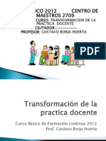 Curso Basico FormaContinua 2012. Gustavo Borja