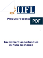 Investment Opportunities in NSEL Exchange