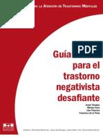 Guía Clínica Para el Trastorno Negativista Desafiante - Josué Vasquéz, Miriam Feria