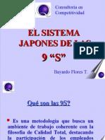 Diapositiva de Las 9 s de La Calidad