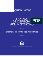Tratado de Derecho Administrativo Tomo 02 - La Defensa Del Usuario y Del Administrado