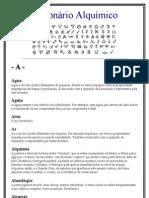 Dicionário Alquimico