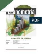 Informe econometría
