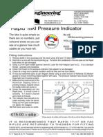 Rapid Mk1 Pressure Indicator