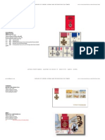 Catalogue of medals on stamps II