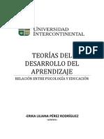 TEORÍAS DEL DESARROLLO DEL APRENDIZAJE