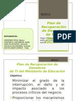 Plan de Recuperación de Desastres TI - MED