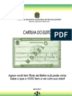 CARTILHA DO ELEITOR