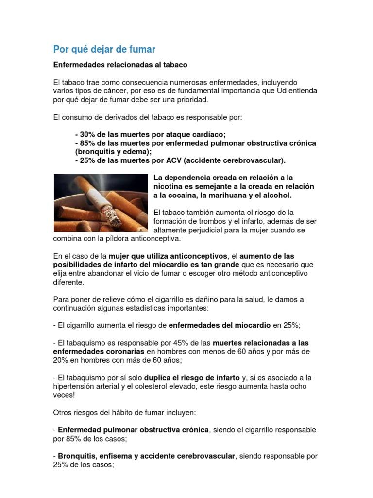 el tabaquismo aumenta el colesterol