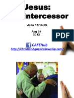 Jesus, The Intercessor