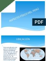 ASPECTO FÍSICO DEL PERÚ