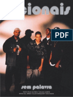 "Livro ""Sem Palavra - Racionais MCs"" (17 páginas)"