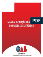 Manual Process o Eletronic o 1