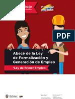 Abece Ley Formalizacion Generacion Empleo