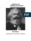 Karl Marx Crítica Ao Programa de Gotha
