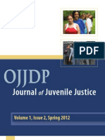 OJJDP 2012 Journal of Juvenile Justice