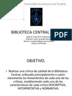 CRITICA – BIBLIOTECA CENTRAL