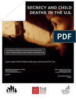 State Secrecy and Child Deaths in the U.S. 2008