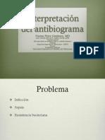 Interpretación del antibiograma
