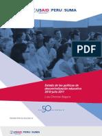 Estado de Las Politicas de La Descentralizacion Educativa 2011