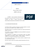 EDITAL PSel 2012.2 AIESEC em São Luís