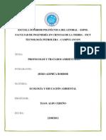 Ecologia Protocolos