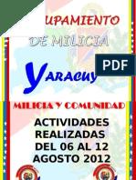 Actividades Semanales, Notas de Prensa, Guion PARTE -I 06-08-12 AL 12-08-12