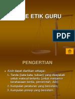 Kode Etik Guru
