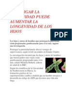 Reportaje, Postergar La Paternidad 1