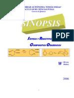 Sinopsis Síntesis y reactividad de los compuestos orgánicos
