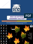 New X-Ise Software Assignment Solution (SUNIL)