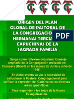 1. Origen Del Plan Global Teciarias Capuchinas