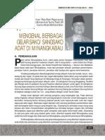 Tulisan Dyd Pgryung Dlm Buku Drktri Minangkabau