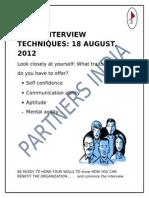 Interview Skills IITR