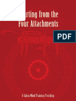 Parting From The Four Attachments