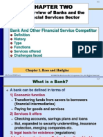 An Overview of Banks and Financial sector Service.