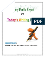 BABITA Company Profile Report